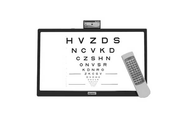 Tela de acuidade visual